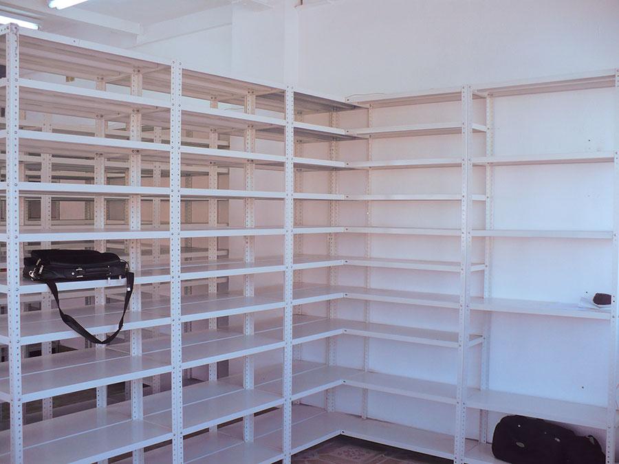 Estanteria metalica anaqueles metalicos estantes metalicos para oficinas comercios e - Estanterias metalicas precio ...