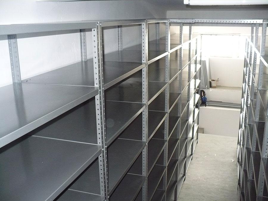 Estanteria metalica anaqueles metalicos estantes - Estantes para bodegas ...